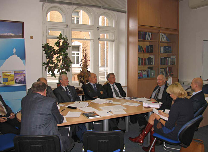 Заседание авторского коллектива по подготовке Доклада к VII Саммиту БРИКС