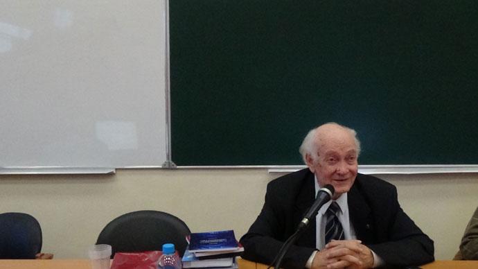 22 сентября 2016 года на факультете глобальных процессов МГУ им. М.В.Ломоносова прошла вторая лекция для магистрантов на тему «История цивилизаций»